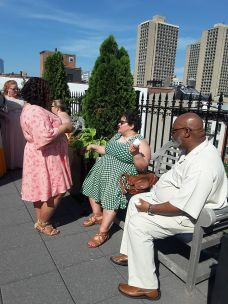 Catching up with Marlena, blogger at Curvy Girl, Big City, Thin Waller