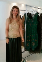 Rojda Hoda, designer at Gatsby Lady London