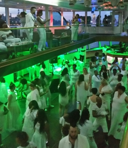 DJ Fugi Slim had the dance floor full
