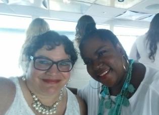With stylist Steffany Bready-Edwards